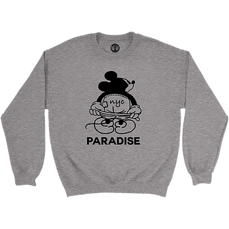 Paradise Crewneck Mickey - Grey