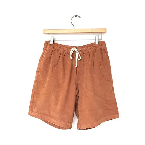 Mollusk Corduroy Shorts - Orange Earth