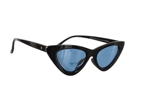 Glassy Eyewear Billie Polarized Black/Blue Lens