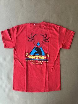 SMA T Shirt Natas Logo  on Back w/Front print