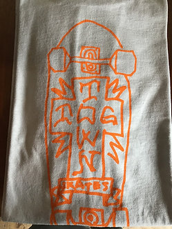 Dogtown Tee Gonz 2 Board Cross Silver/Orange