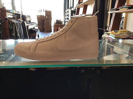Nike SB Blazer Mid White/White Leather 864349-105