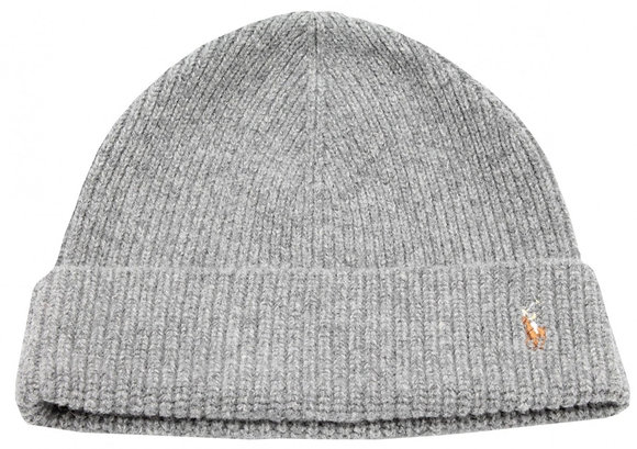 Polo RL - Men's Signature Cold Weather Cuff Hat - Grey