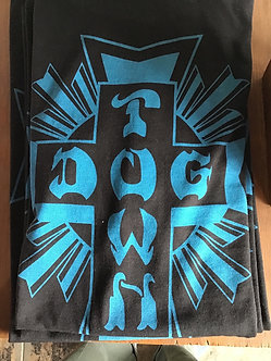 Dogtown Tee Cross Logo Black/Blue