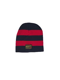 East 4th Skate Stripe Beanie (Navy/Red)