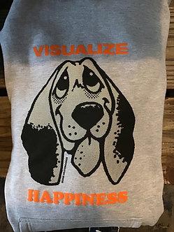 Quasi Hoody Visualize Happiness