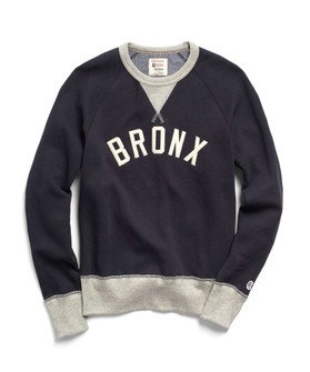 "Todd Snyder x Champion ""Bronx"" Crew - Grey/Navy"
