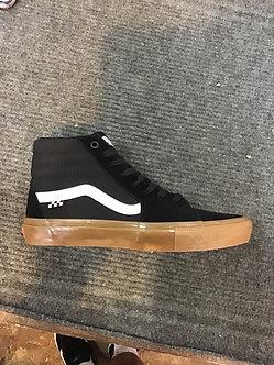 Vans Skate Sk8 Hi - Black/Gum