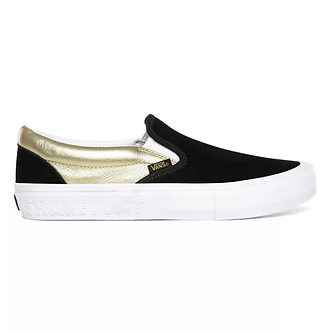 Vans x Shake Junt Slip On Pro - Black/White