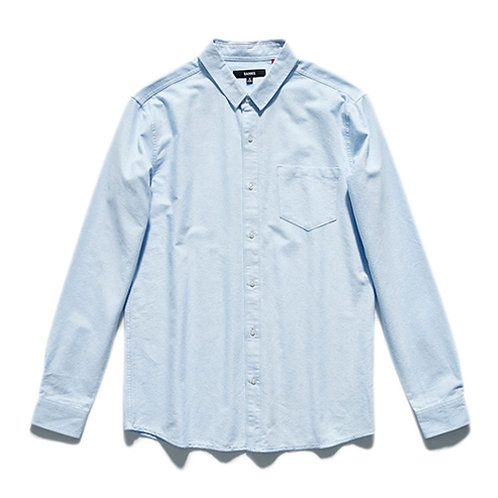 Banks Sutton Oxford Woven Shirt - Blue