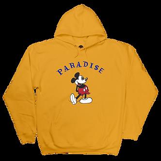 Paradise Mickey Boner Hoody - Gold