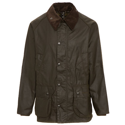 Barbour Bedale Wax Jacket - Olive