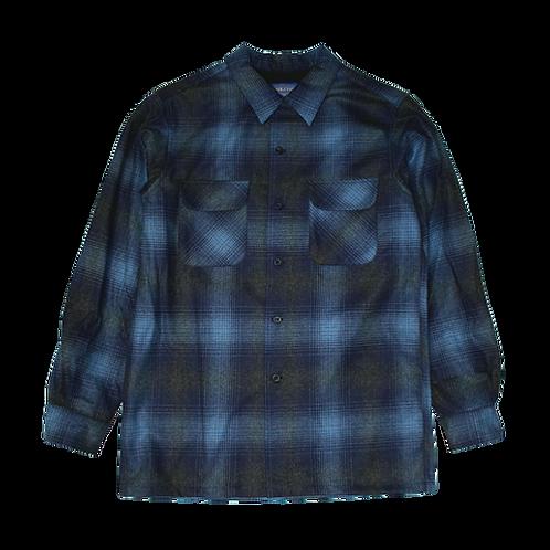 Pendleton Vintage Fit Rider Shirt (Blu/Grey Ombre)