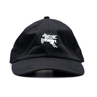 Cortina Pegasus Strapback Cap - Black