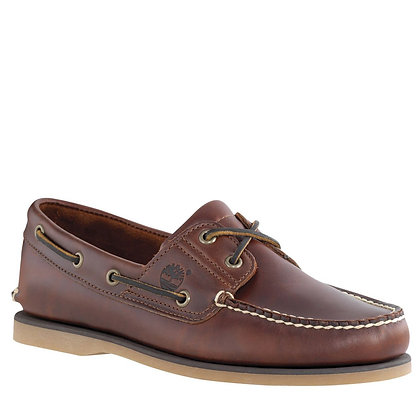 Timberland Classic Boat Shoe - MD Brown Full Grain