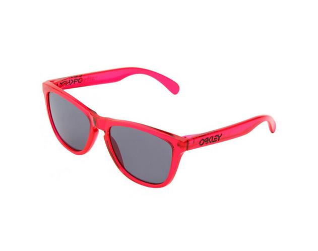 Oakley Frogskins Glasses - Acid Pink/Grey