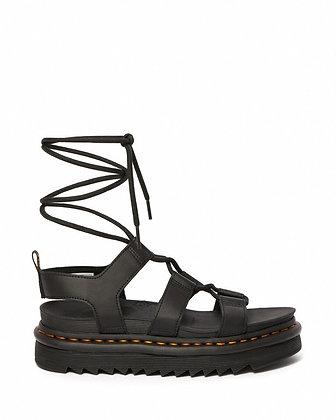 Dr. Martens Nartilla Leather Gladiator Sandal - Black