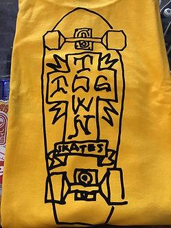 Dogtown Board Cross Tee yellow