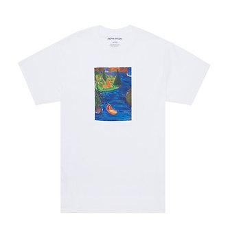 Fucking Awesome T Shirt Floating Baby Tee White