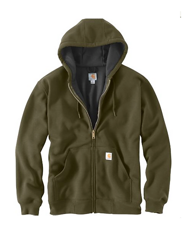 Carhartt Rutland Thermal-Lined Zip - Army Green