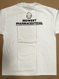 FA T Shirt Midwest Pharmaceuticals (White)