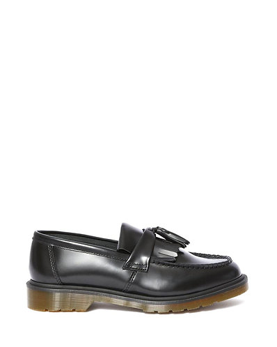 Dr. Martens Adrian Tassle Loafers - Black Smooth