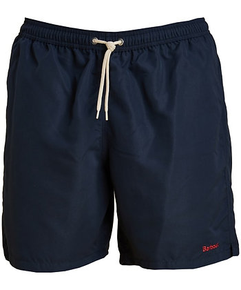 "Barbour Logo 7"" Swim Shorts - Navy"