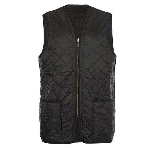 Barbour Polarquilt Waistcoat Zip - Black