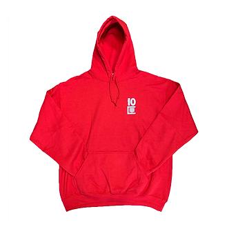 Tenbox Logo Hoodie (Red)