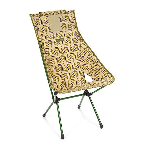 Helinox Sunset Chair - Green Triangle