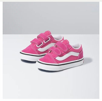 Vans Toddler Old Skool V Fuchsia Purple VN0A38JN32C