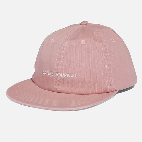 Banks Logo Hat - Ash Rose