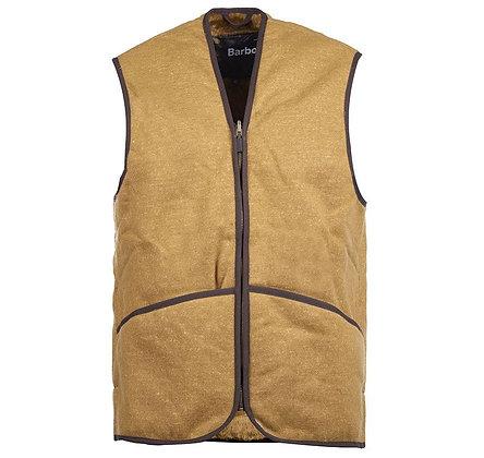 Barbour Warm Pile Waistcoat Zip Vest - Brown
