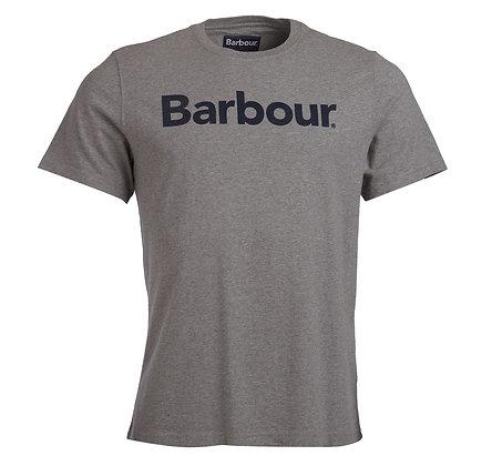 Barbour Logo T-Shirt - Grey Marl