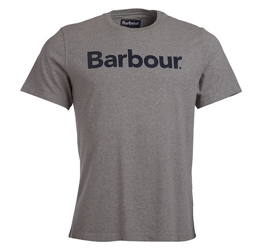 Barbour Logo T-Shirt - Grey Marl