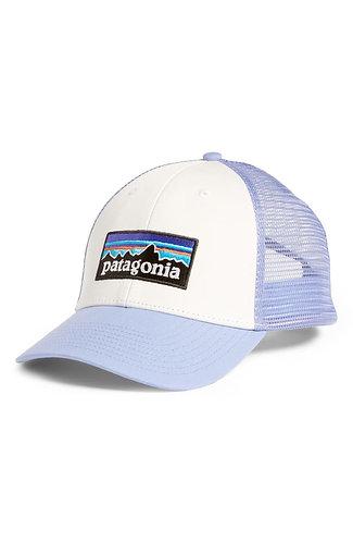 Patagonia P-6 Logo Lowpro Trucker Hat - WHLT [38016]