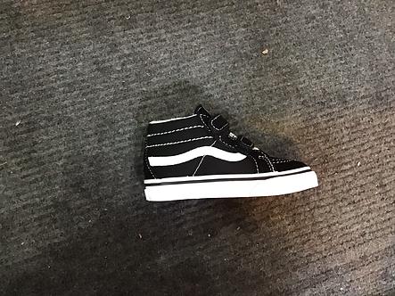 Vans toddler sk8 hi reissue black/white