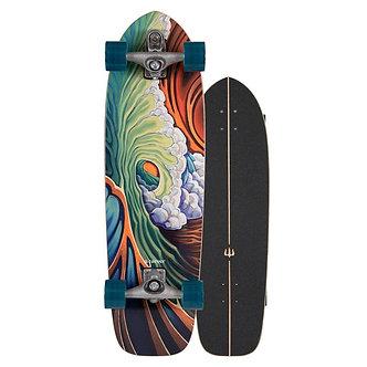 "Carver C7 RAW | 33.75"" Greenroom 2020 Surfskate Complete"