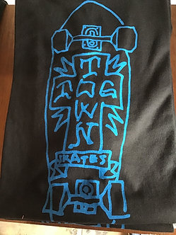 Dogtown Tee Gonz 2 Board Cross Black/Blue