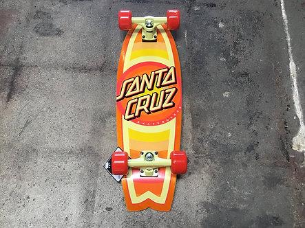Santa Cruz Medium Cruiser Logo Orange/Yellow/Red