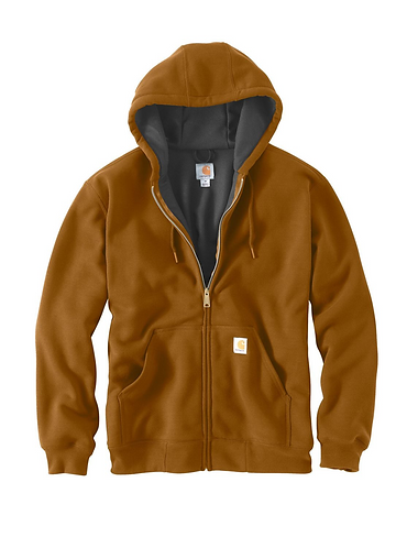 Carhartt Rutland Thermal-Lined Zip - Carhart Brown
