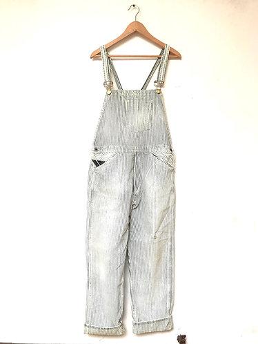 LVC 1920s Bib & Brace Youth Wear Overall Hickory Stripe - 202990002