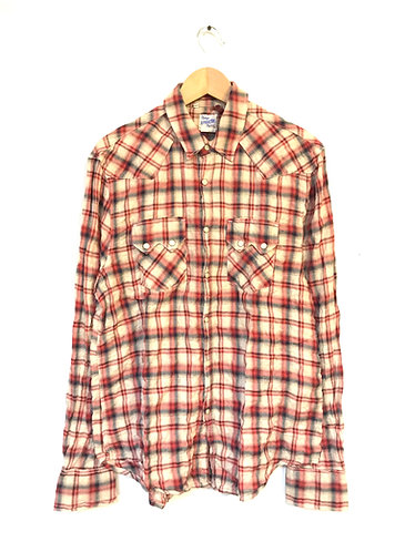 LVC Western Worn Shirt Red Check - 600550001