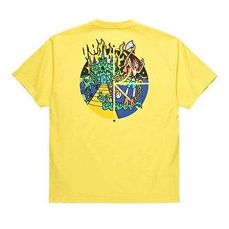 Polar Castle Fill Logo Tee - Yellow
