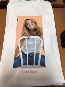 Color Bars T Shirt Britney