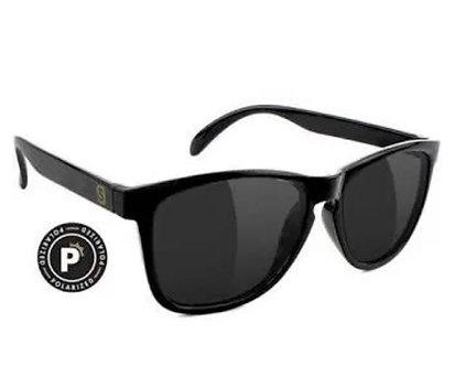 Glassy Eyewear Deric Polarized Matte Black