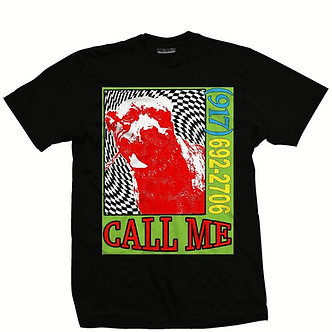 Call Me 917 Wavy Dog Tee