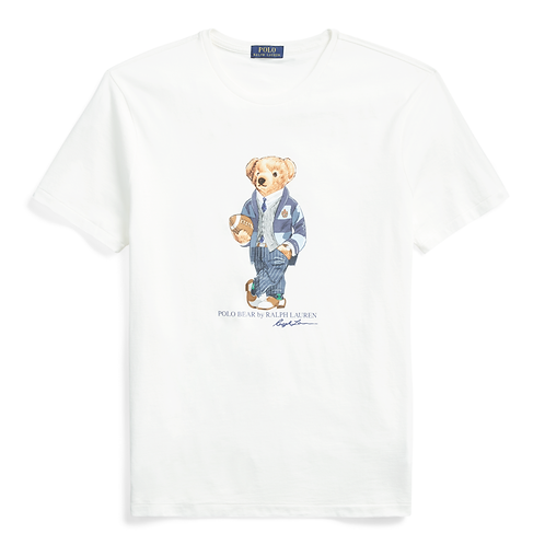 Polo RL Bear T-Shirt - Deckwash White