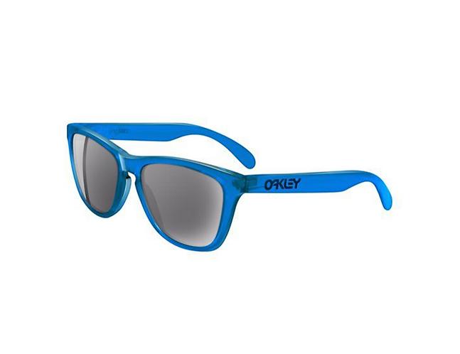 Oakley Frogskins Glasses - Acid Blue / Grey