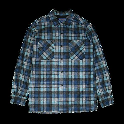 Pendleton Vintage Fit Rider Shirt (Blue OG Surf)